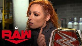 Becky Lynch Has One More Debt To Collect, Wrestles WWE Raw Dark Match