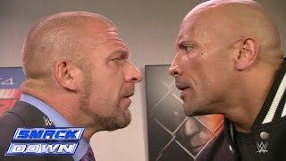 Triple H Confirms That He Was Set To Face The Rock At WrestleMania 32