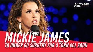 Mickie James Undergoing Knee Surgery On 7/16