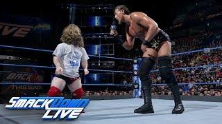 Several Sources Of Heat On Big Cass Backstage