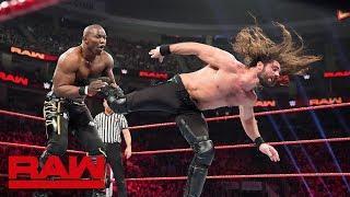 Shelton Benjamin Fails To Soften Up Seth Rollins; Brock Lesnar Set For Next Week's WWE Raw
