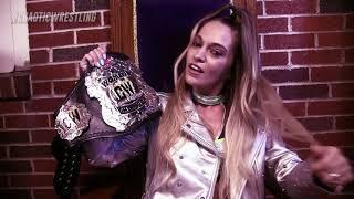 Alisha Edwards Wrestling Tessa Blanchard On Impact Wrestling