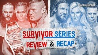 WWE Survivor Series Fight Size: Charlotte Flair Comments On Her Actions, Fan Injured During Enzo Amore Scuffle, Backstage Interviews, More
