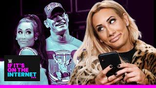 Carmella Q&A, Dixie Carter Reacts To Robert Stone & Chelsea Green On NXT | Fight-Size Update