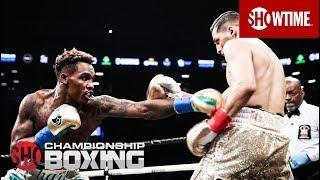 Jermall Charlo Knocks Out Hugo Centeno Jr. To Win Interim WBC Middleweight Title