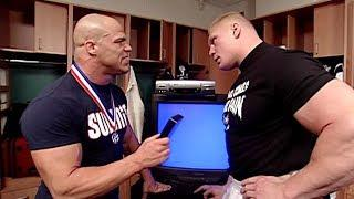 Kurt Angle Names Iron Man Match With Brock Lesnar As His Most Intense Match, Talks Submissions, More