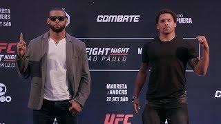 UFC Fight Night Sao Paulo Weigh-In Results, Barao Misses Weight Big Time