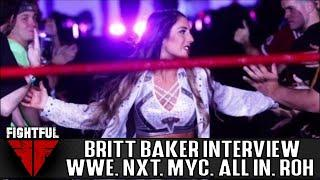 Exclusive: Britt Baker Reveals Why She Hasn't Worked For IMPACT, Talks All In Match, ROH & Performance Center