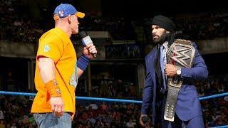 John Cena Facing Jinder Mahal In Non-Title Match Tomorrow Night On SmackDown