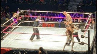 Rey Mysterio Wrestles At A WWE Live Event For The First Time Since His Return