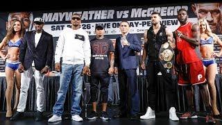 LIVE: Mayweather vs. McGregor: Undercard Press Conference