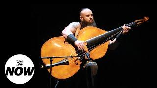 Braun Strowman Accidentally Broke The Double Bass' Strings