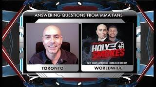 Showdown Joe Answers Questions From MMA Fans