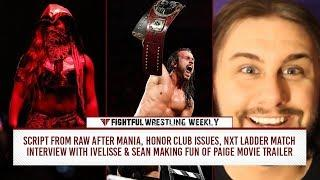 Fightful Wrestling Weekly (4/13): Ladder Match, Raw Script, ROH, Ivelisse, Riddle