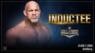 Goldberg Announced As First WWE Hall Of Fame 2018 Inductee
