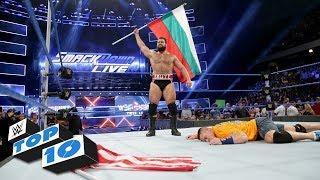 Fight-Size Wrestling Update: SmackDown Top 10, Braun Destruction In Slo-Mo, Cena's Message To Rusev, NXT Tonight, Battleground Match, More