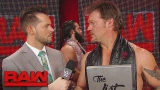 Chris Jericho Thinks Jimmy Jacobs' Picture 'Wasn't a Smart Move'