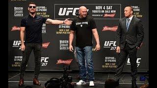 LIVE: UFC 217: Bisping vs St-Pierre Press Conference