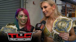 TAELER: AND NEW Women's Tag Team Champions Charlotte Flair And Asuka