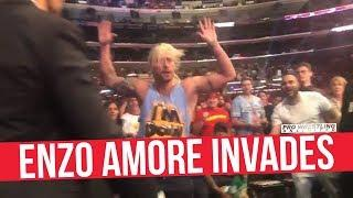 Enzo Amore Kicked Out Of WWE Survivor Series; Banned From Staples Center