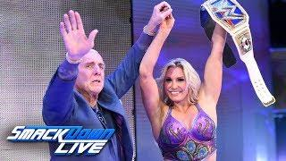 Ric Flair Congratulates Charlotte & Andrade, Lana Touts Wedding Success | Fight Size Update