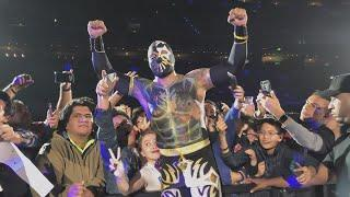 Sin Cara in Mexico City during WWE Latin America tour