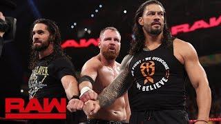 The Shield reuniting on this week's Monday Night RAW.