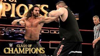 VIDEO: Seth Rollins vs. Kevin Owens Clash Of Champions Highlights