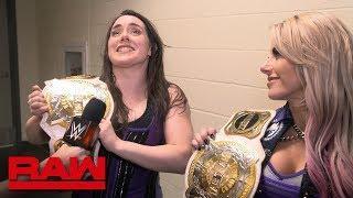 Alexa Bliss & Nikki Cross Capture WWE Women's Tag Team Championships On RAW