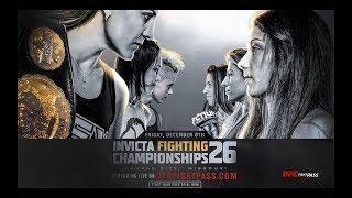 Invicta FC 26 Results: Jennifer Maia vs. Agnieszka Niedzwiedz Headlines, Mackenzie Dern Debuts & UFC Vet Milana Dudieva Competes