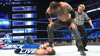WATCH: Smackdown Live's Main Event