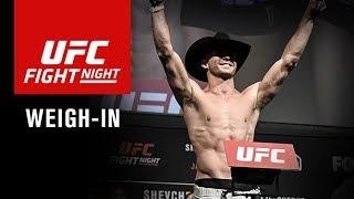LIVE: UFC Fight Night Gdansk Weigh In