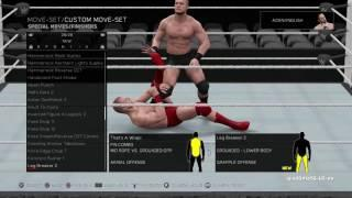WATCH: New Finishers In WWE 2K17