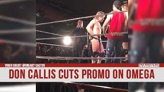 Don Callis Turns His Back On Kenny Omega At A 'Premiere Championship Wrestling' Show