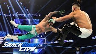 Rey Mysterio vs. Andrade Added To WWE Fastlane Kickoff Show, Updated Card