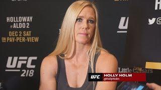 Former UFC Champion Holly Holm