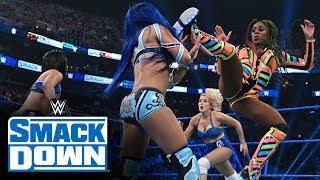 Bayley & Sasha Banks vs. Naomi & Lacey Evans Set For 3/6 WWE SmackDown