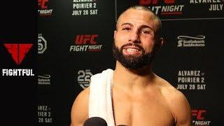 Exclusive: John Makdessi Talks About His Complex Nature and Connection with Duke Roufus Following UFC on Fox Victory