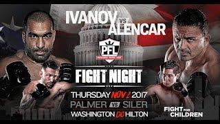 PFL: Washington DC Results: Blagoy Ivanov vs. Caio Alencar Headlines, Plus Lance Palmer, Steven Siler, Mike Kyle & More!