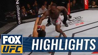 Fighters React To Derek Brunson's Knockout Victory Over Lyoto Machida, Highlight Of The KO