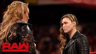 Ronda Rousey Defending The RAW Women's Championship Against Nia Jax At WWE TLC