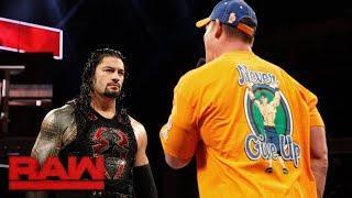 Roman Reigns Defeats John Cena At WWE No Mercy 2017