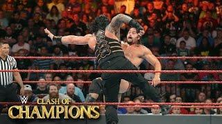 VIDEO: Roman Reigns vs. Rusev From Clash Of Champions