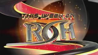 SPOILERS: ROH Las Vegas TV Tapings - ECW Star Returns, HAROLD, Two World Title Matches