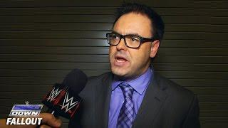 Josh Mathews And Taz Are Very Disappointed In Mauro Ranallo For Missing SmackDown, Blizzard Or No Blizzard