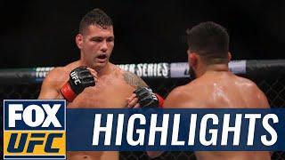 Chris Weidman Submits Kelvin Gastelum At UFC on Fox 25