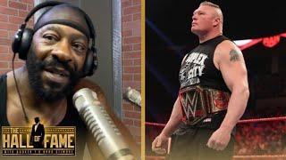 Booker T Feels Brock Lesnar Is In A Catch-22 & Will Be Criticized By Fans Whether He Shows Up Or Not