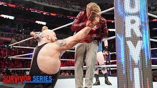 Drake Maverick Runs Into The Big Show At WWE Survivor Series And Pisses His Pants
