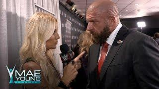 HHH Recalls Telling Talent She Couldn't Compete In Mae Young Classic