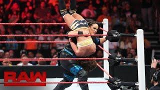 The Performance Center's Top Rope Trust Fall Drill Scared The Crap Out Of Nia Jax